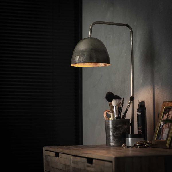 Tafellamp storage - Oud zilver