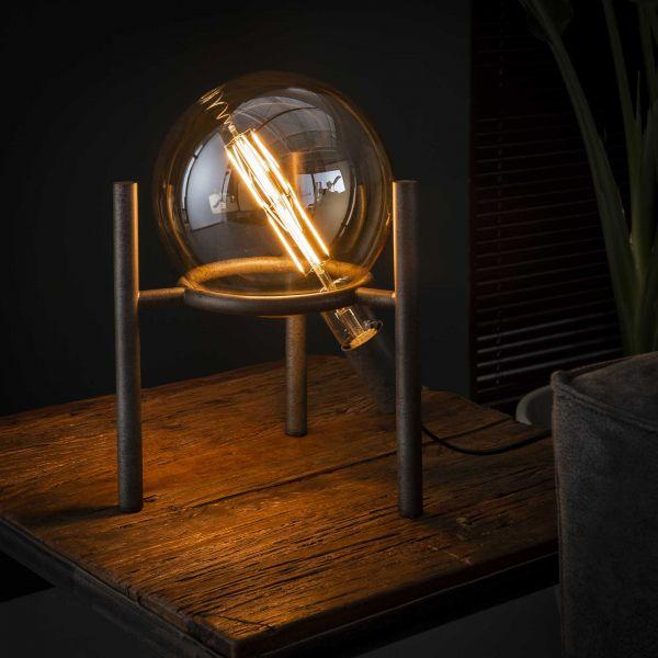 Tafellamp saturn Ø20 lichtbron - Oud zilver