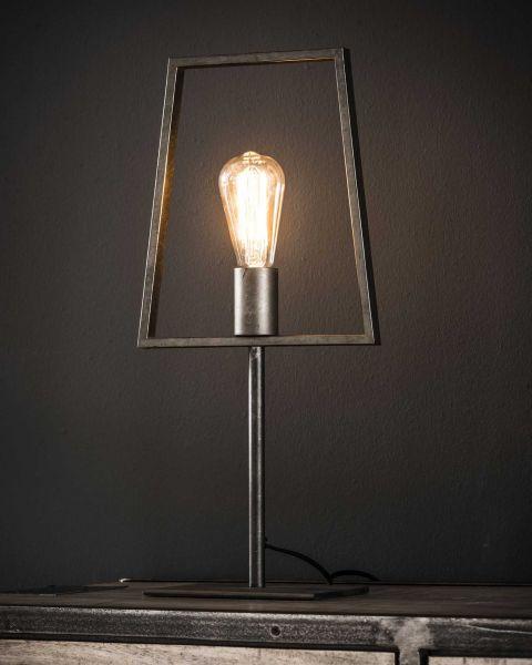 Tafellamp 1L buisframe - Charcoal