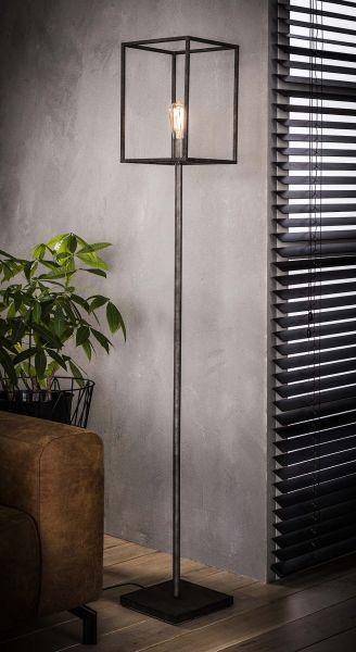 Vloerlamp cubic - Oud zilver