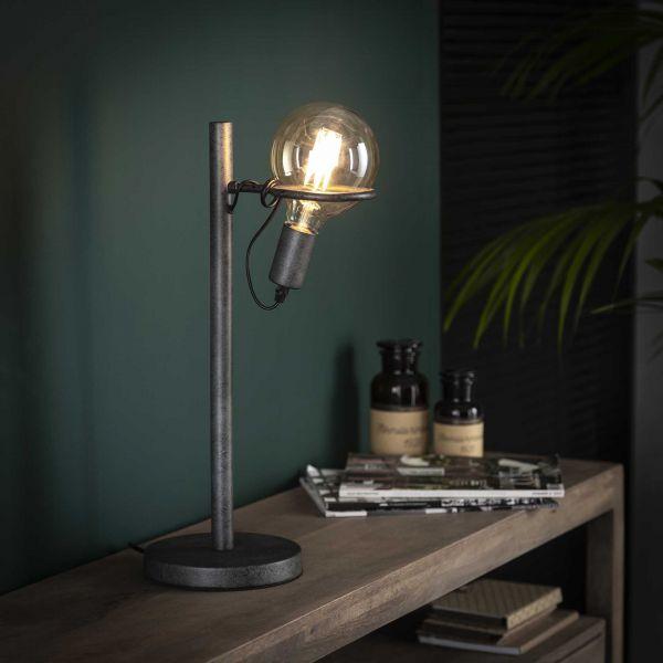 Tafellamp saturn Ø12 5 lichtbron - Oud zilver