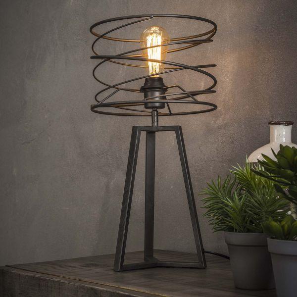 Tafellamp Ø27 curl - Charcoal