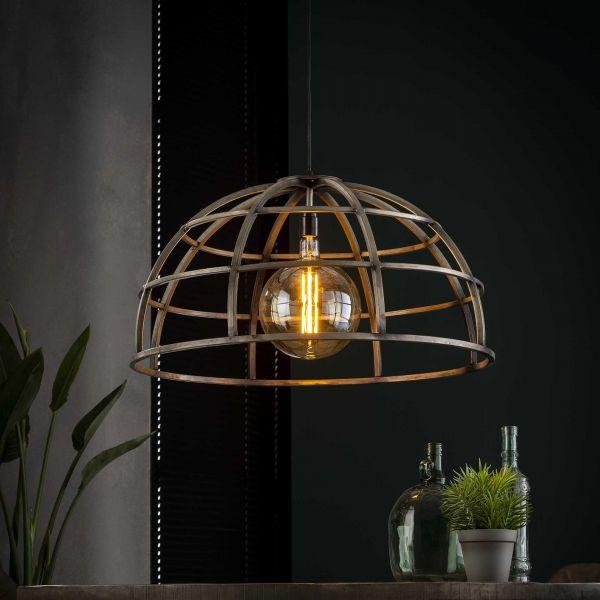 Hanglamp Ø70 dome - Oud zilver