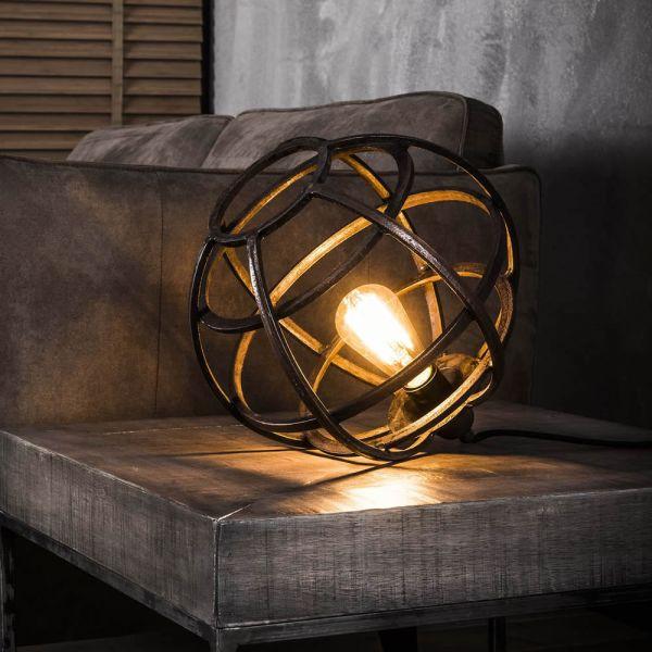 Tafellamp Ø33 globe - Antiek koper finish
