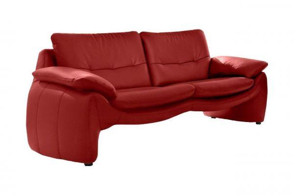 3 Zits Bank Met Hocker.Sofa Team Leer 3 Zits Bank 525 Met Hocker Rood Bankstelplus Nl