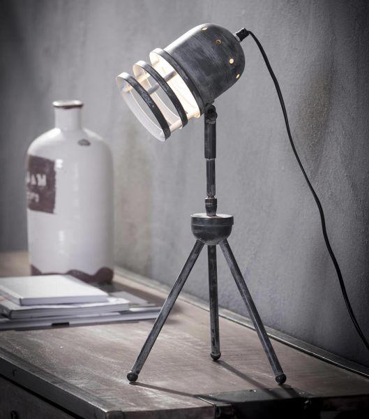 Tafellamp iron schroef - Grijs