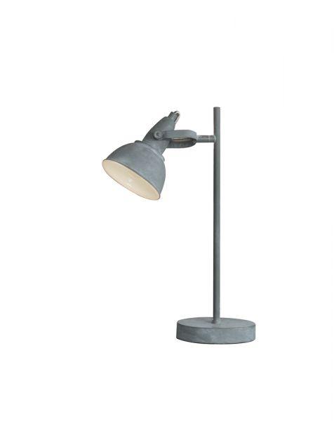 Tafellamp cup concrete. - Grijs