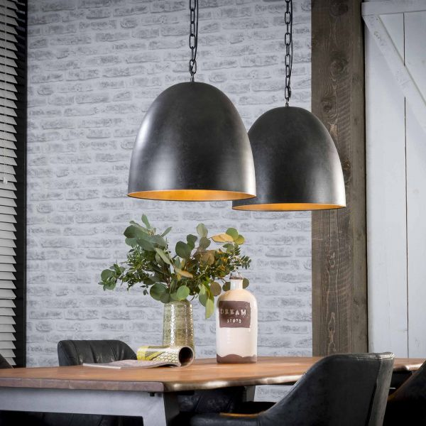 Hanglamp 2xØ40 - Charcoal