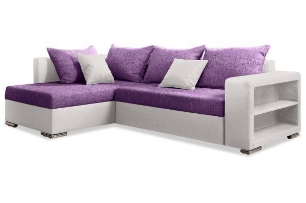 Collection AB Hoekbank XL John - met slaapfunctie - Violet
