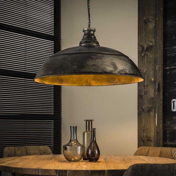 Hanglamp Ø80 industry - Oud zilver
