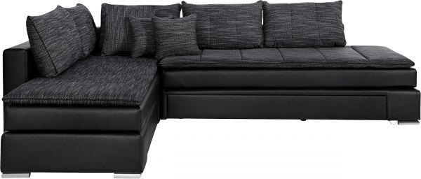 Collection AB Hoekbank XL N&D - met slaapfunctie - Zwart