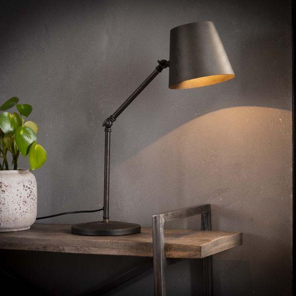Tafellamp knik verstelbaar - Charcoal