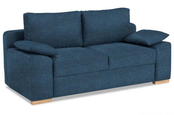 Castello 2 zits Bank Campino de luxe - met slaapfunctie - Blauw