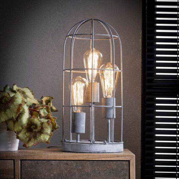 Tafellamp 3L Ø20 kooi - Grijs