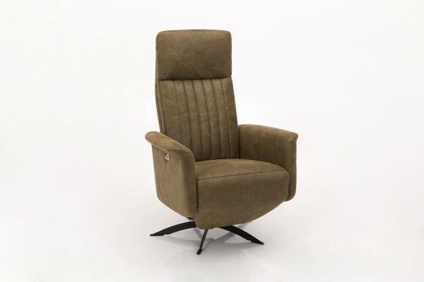 Hjort Knudsen Fauteuil 7079 - Tex Bull 2894 Moss