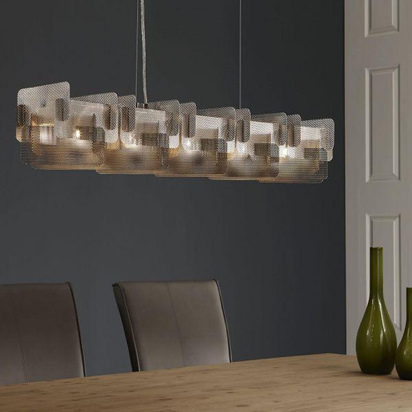 Hanglamp Perforata - Mat nikkel