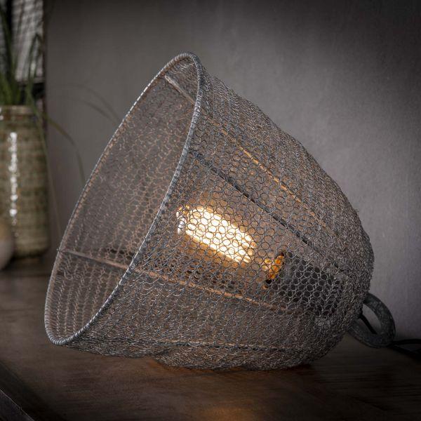 Tafellamp Ø30 mesh - Grijs