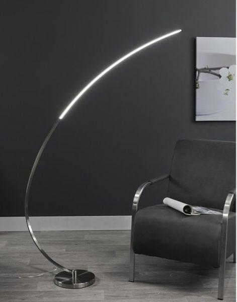Vloerlamp boog XL dimmed LED 18W - Grijs
